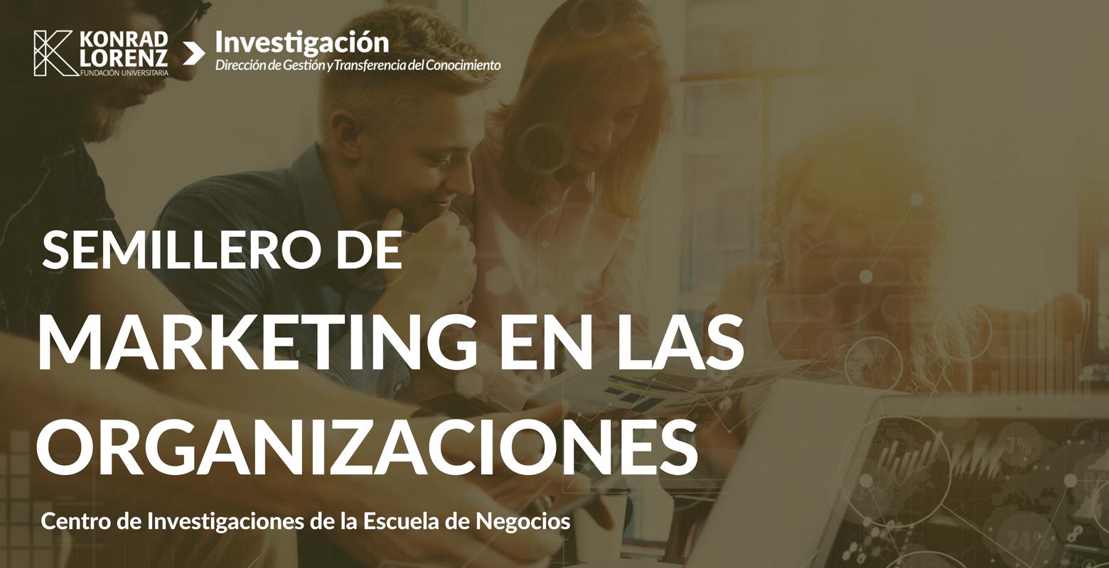 Semillero de marketing en las organizaciones