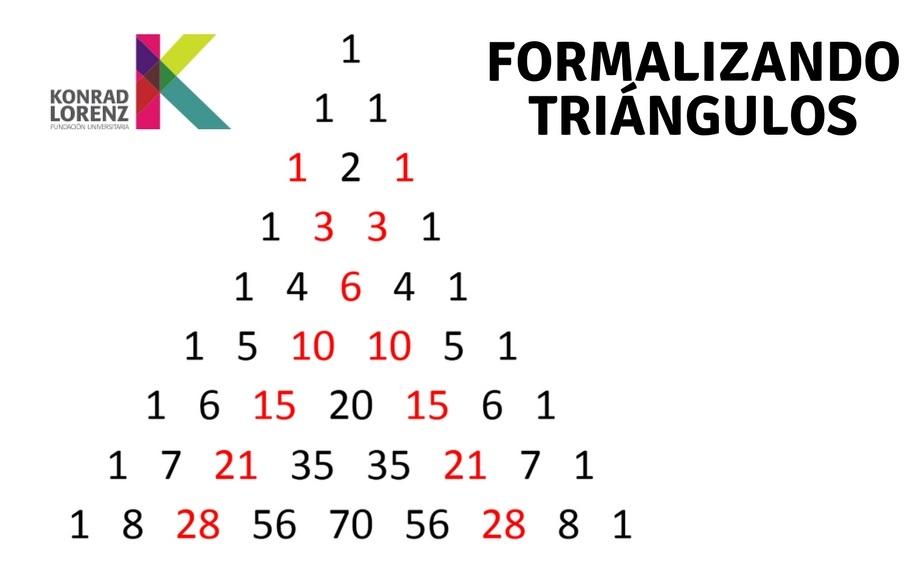 Formalizando triángulos