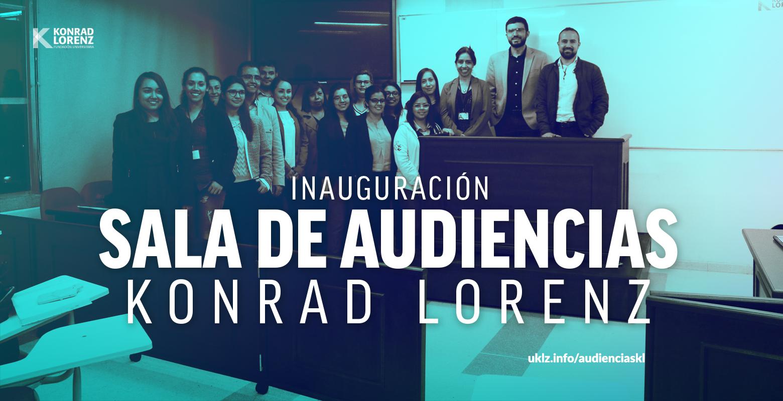 Inauguración Sala de Audiencias Konrad Lorenz