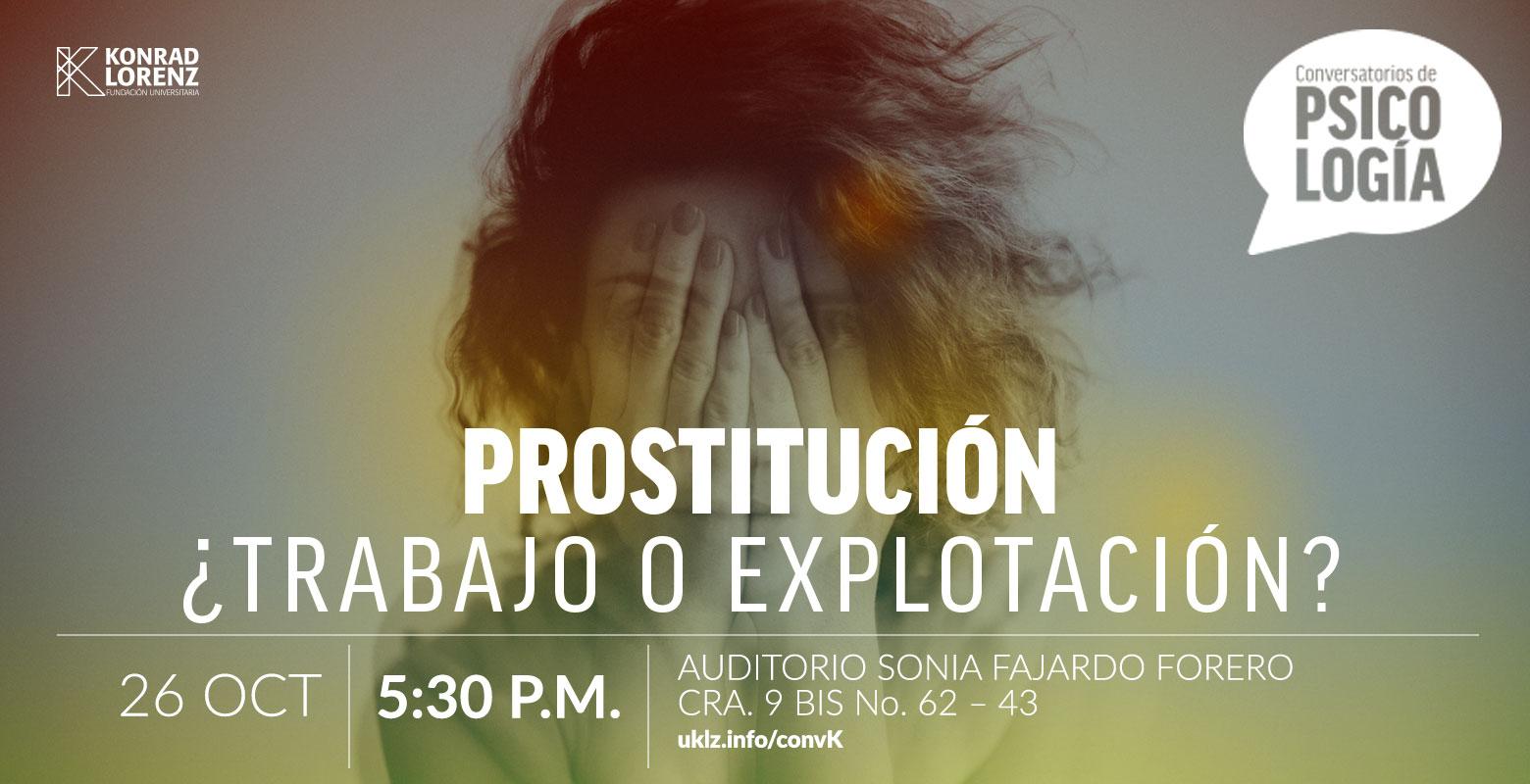 Conversatorio: Prostitución, ¿trabajo o explotación?