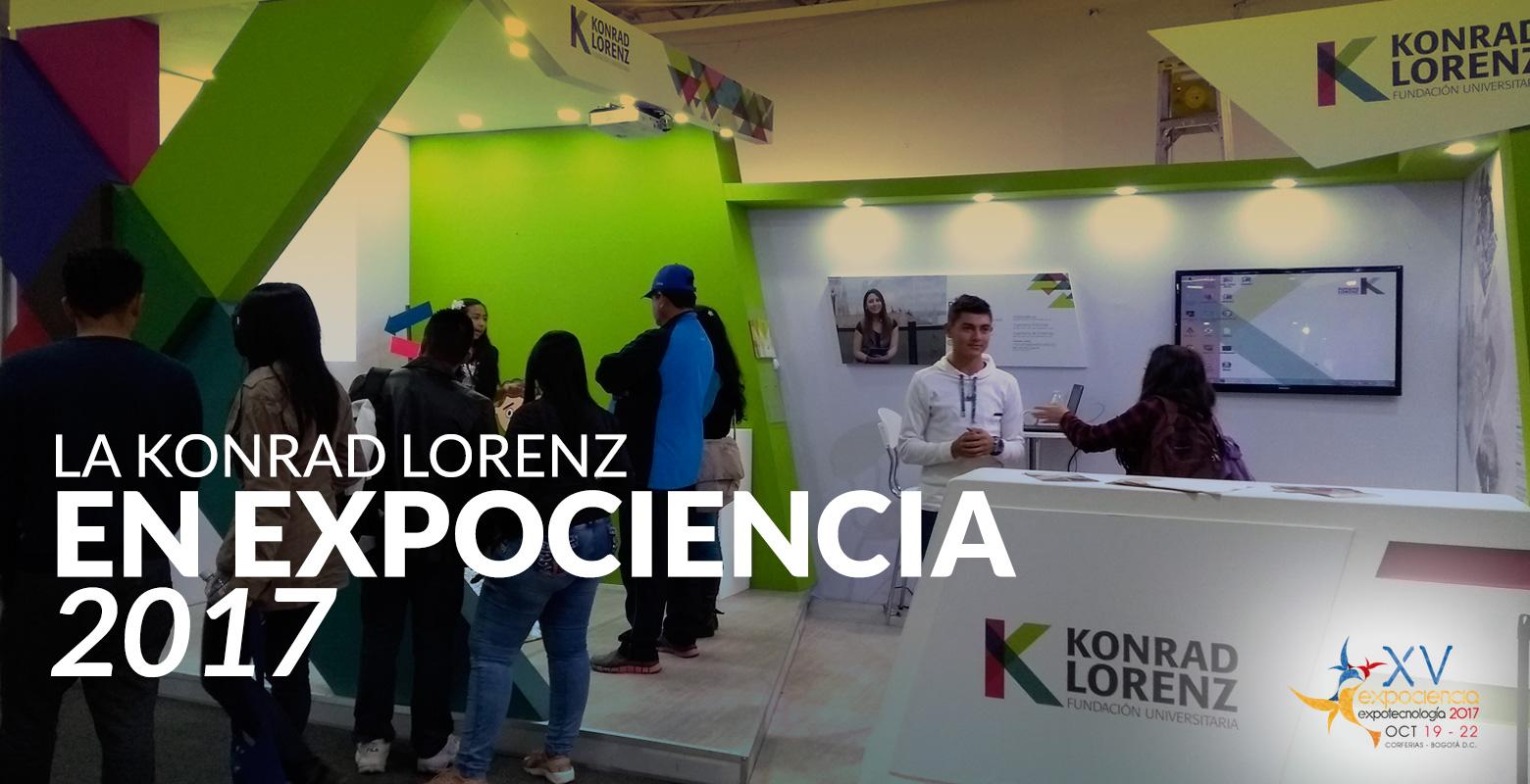 La Konrad Lorenz en Expociencia 2017