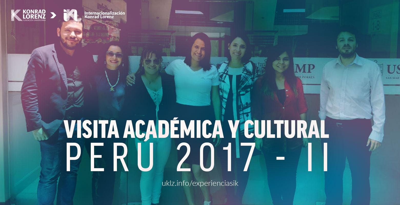 Visita Académica y Cultural Perú 2017-2