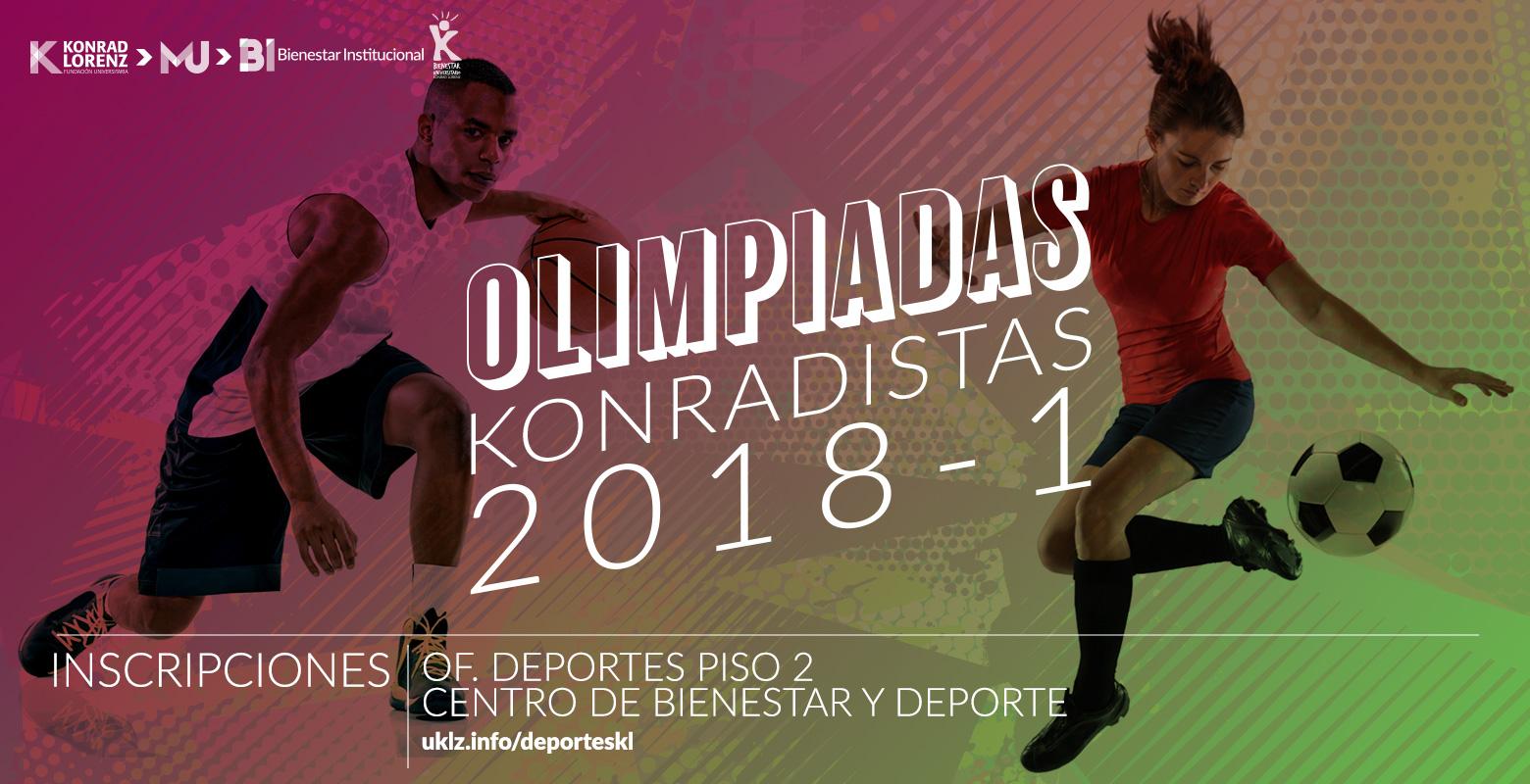 Olimpiadas Konradistas 2018-1