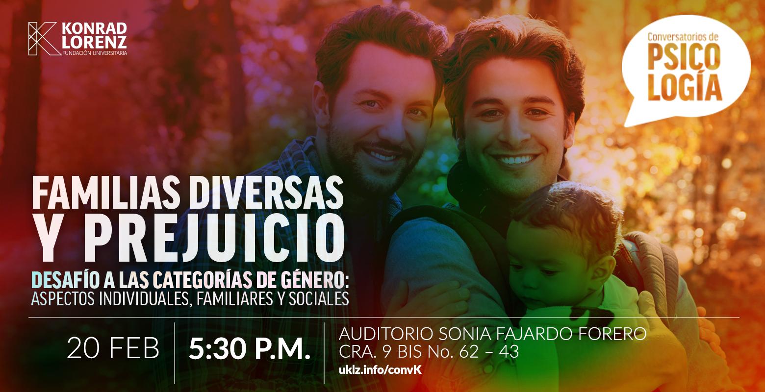 Conversatorio: Familias diversas y prejuicio