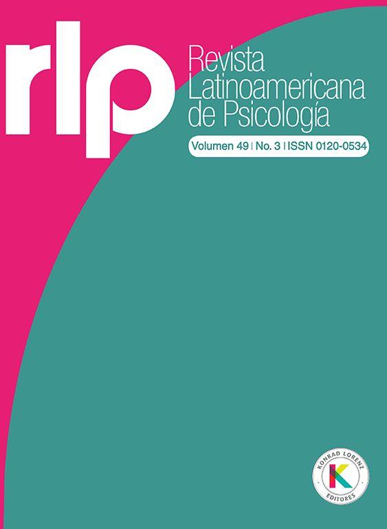 Revista Latinoamericana de Psicología