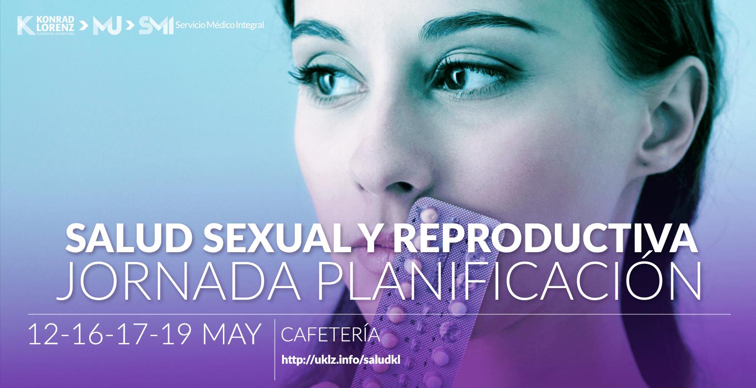 Salud Sexual y Reproductiva Jornada Planificación