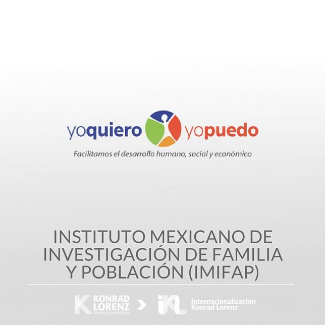 Instituto Mexicano de Investigación de Familia y Población