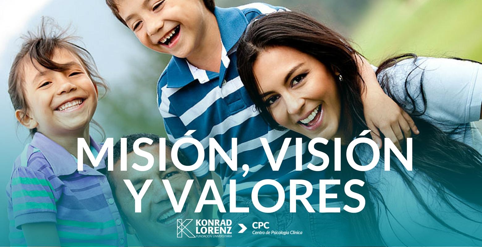 Misión, visión y valores CPC