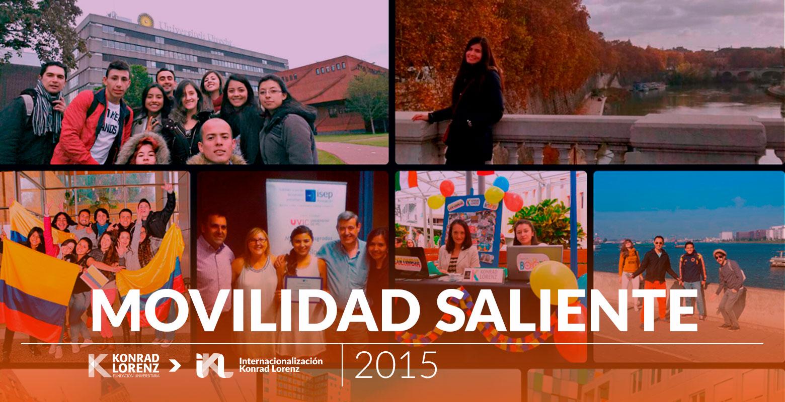 Movilidad Saliente 2015