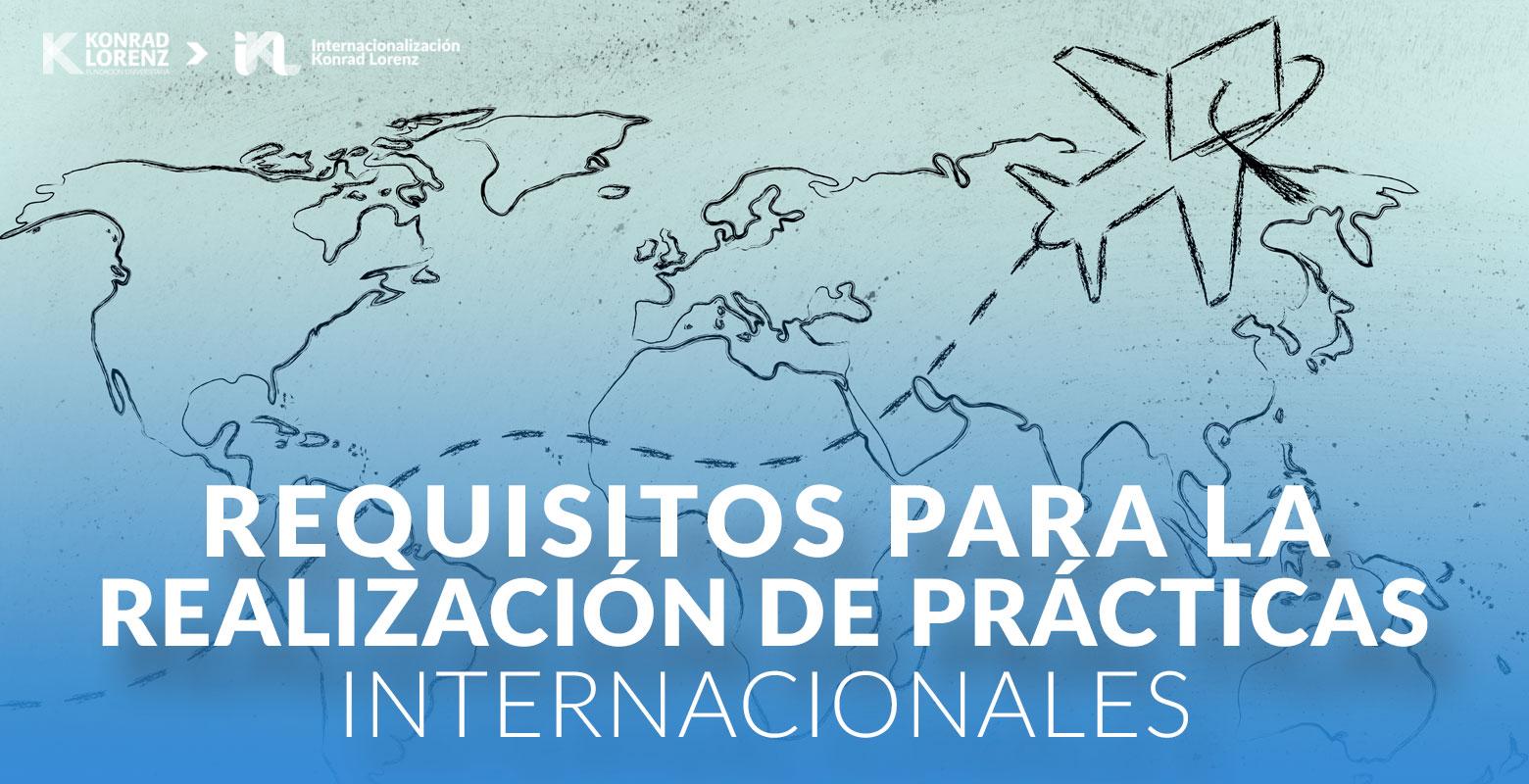 Requisitos para la realización de prácticas internacionales