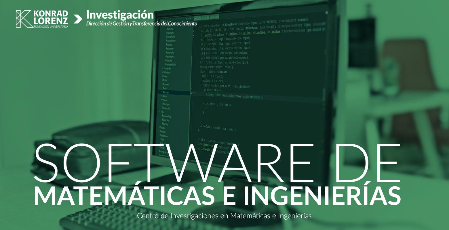 Software de Matemáticas e Ingenierías