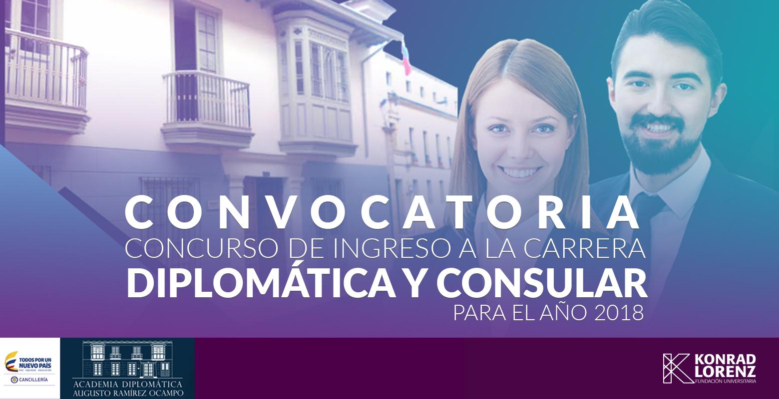 Convocatoria concurso Carrera Diplomática y Consular 2018