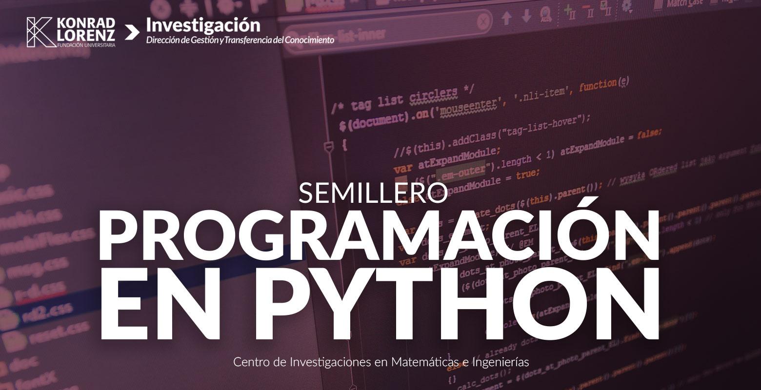Semillero Programación en Python
