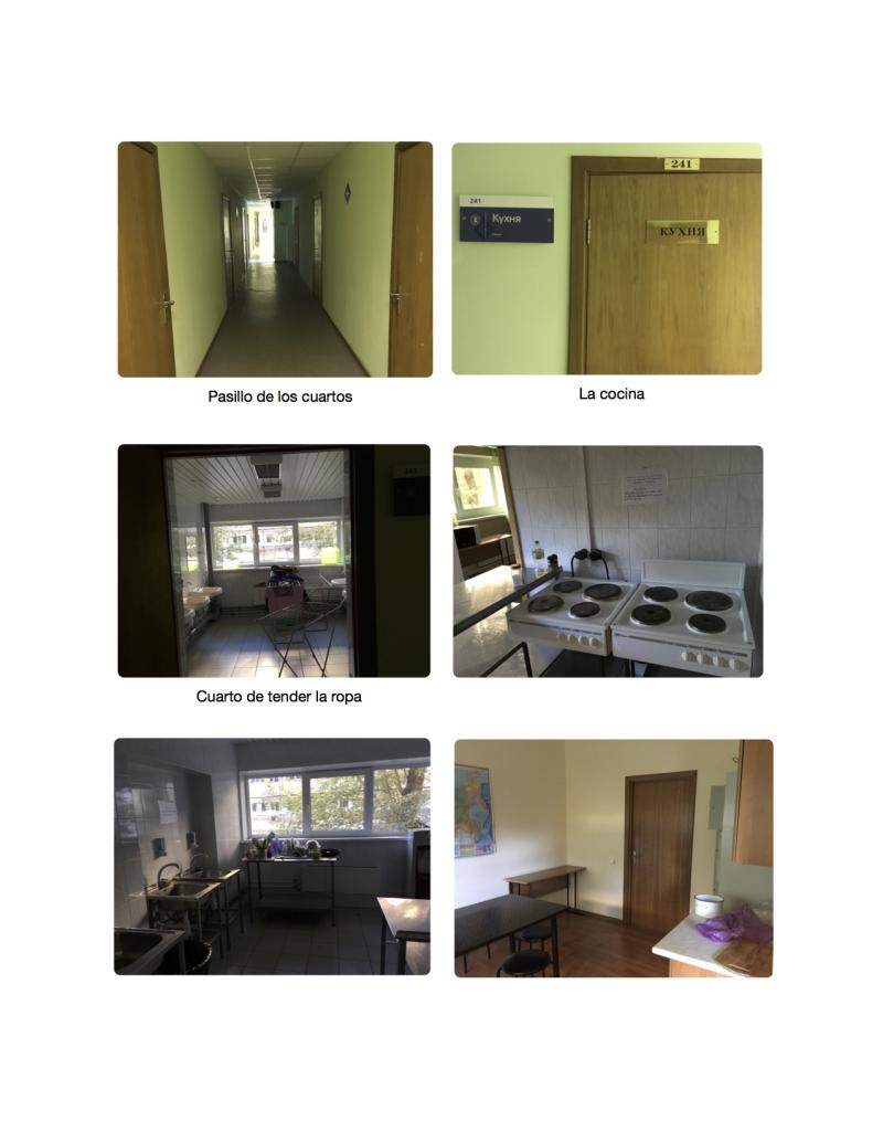 Dormitorios HSE 3