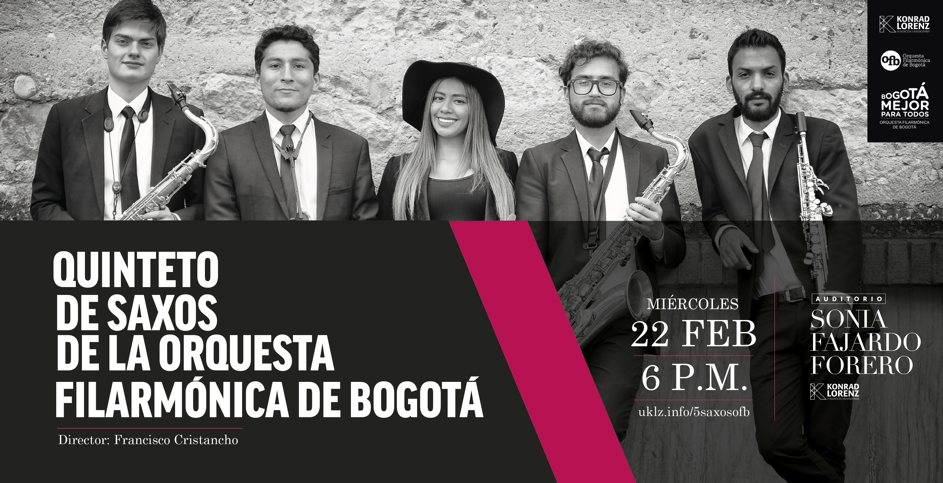 Quinteto de Saxos de la Orquesta Filarmónica de Bogotá