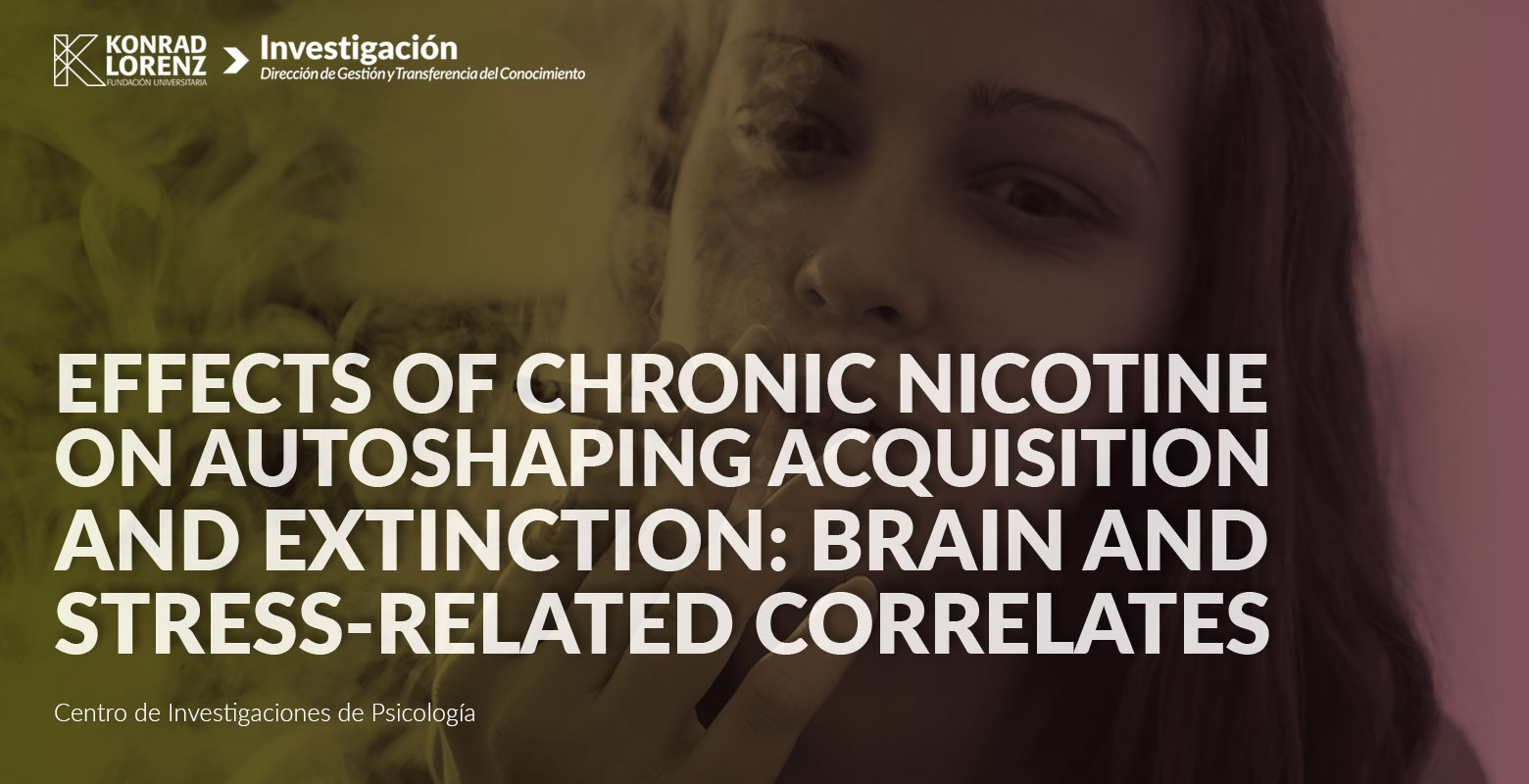Effects of chronic nicotine on autoshaping acquisition and extinction: Brain and stress-related correlates