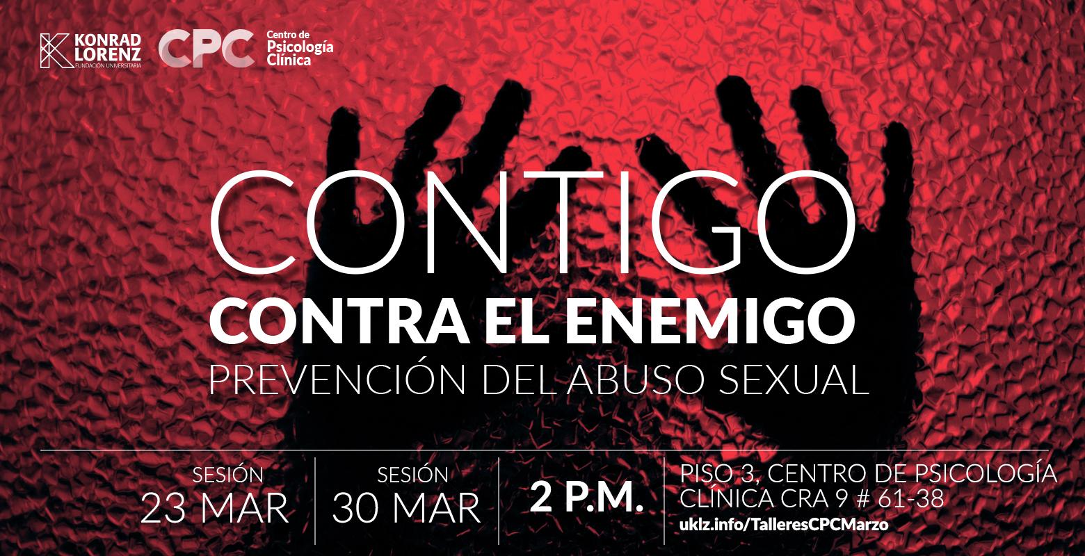 Contigo contra el enemigo: prevención abuso sexual