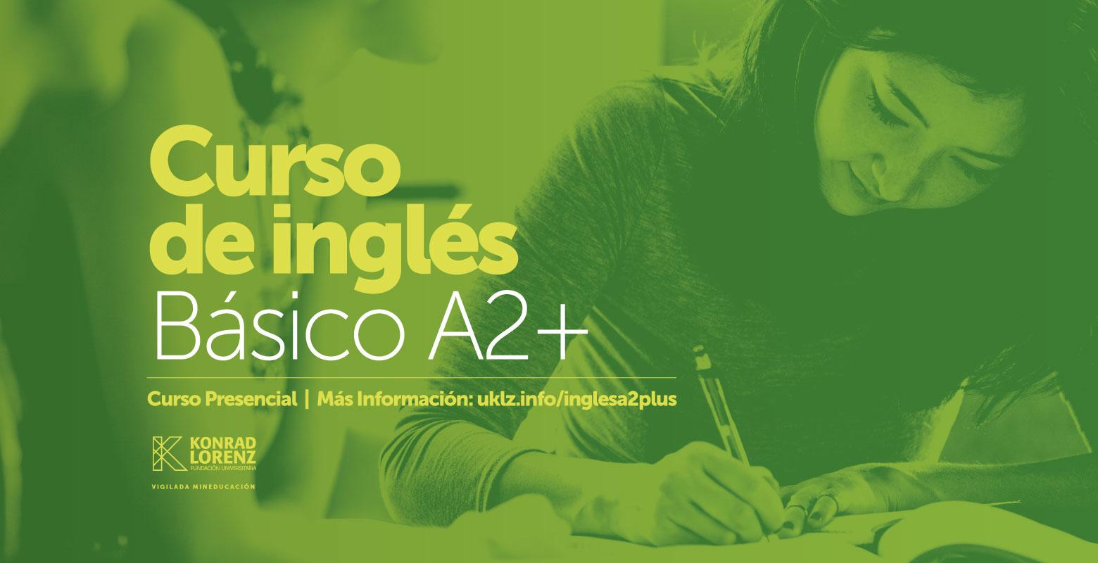 Curso Inglés Básico A2+