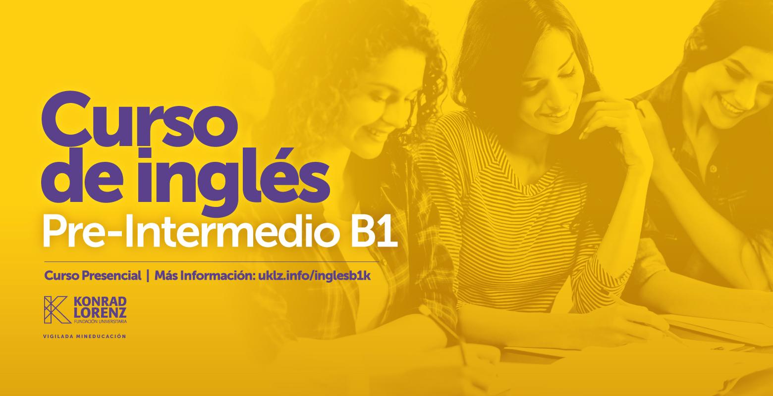 Curso Inglés Pre-Intermedio B1