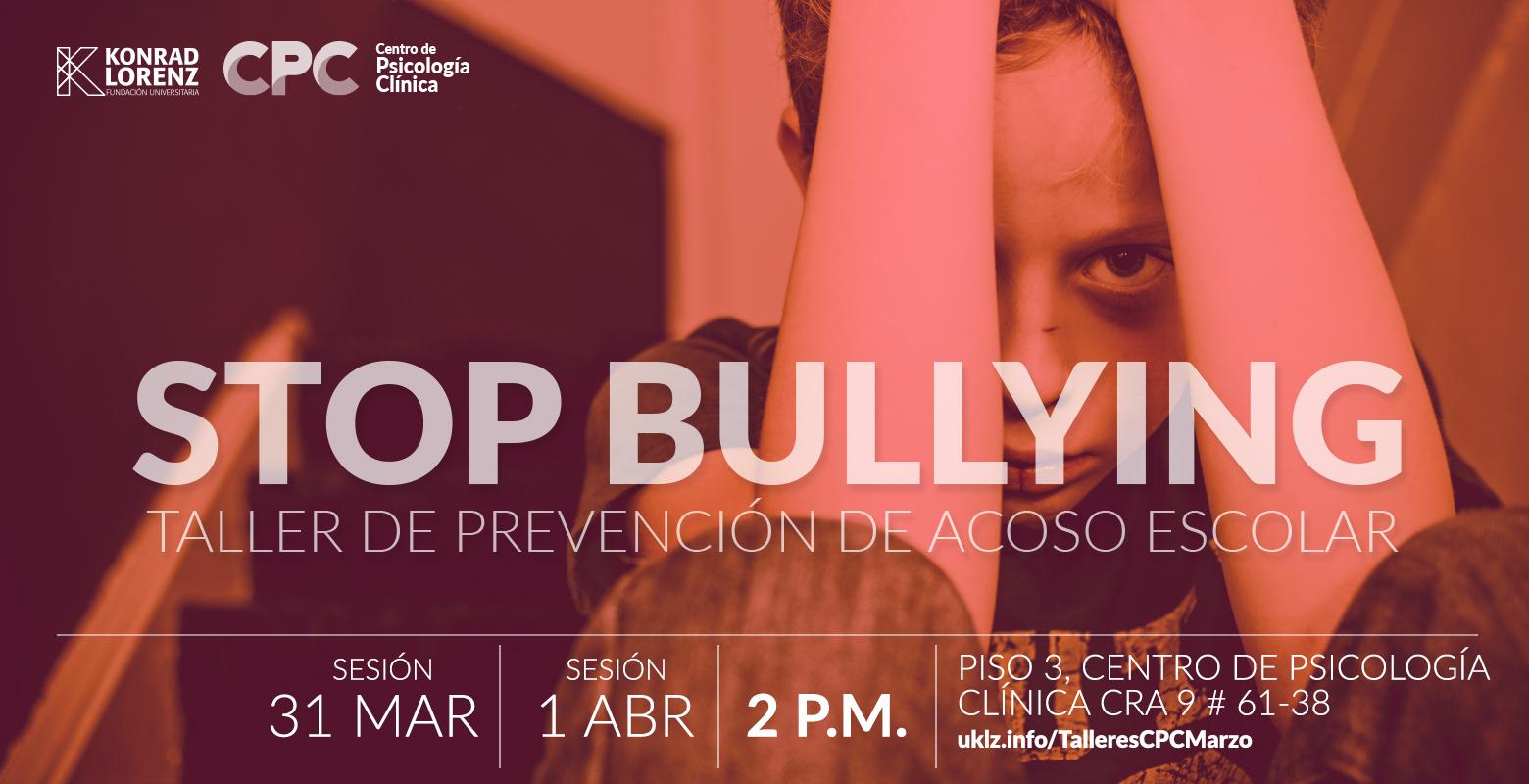 Taller: Stop Bullying
