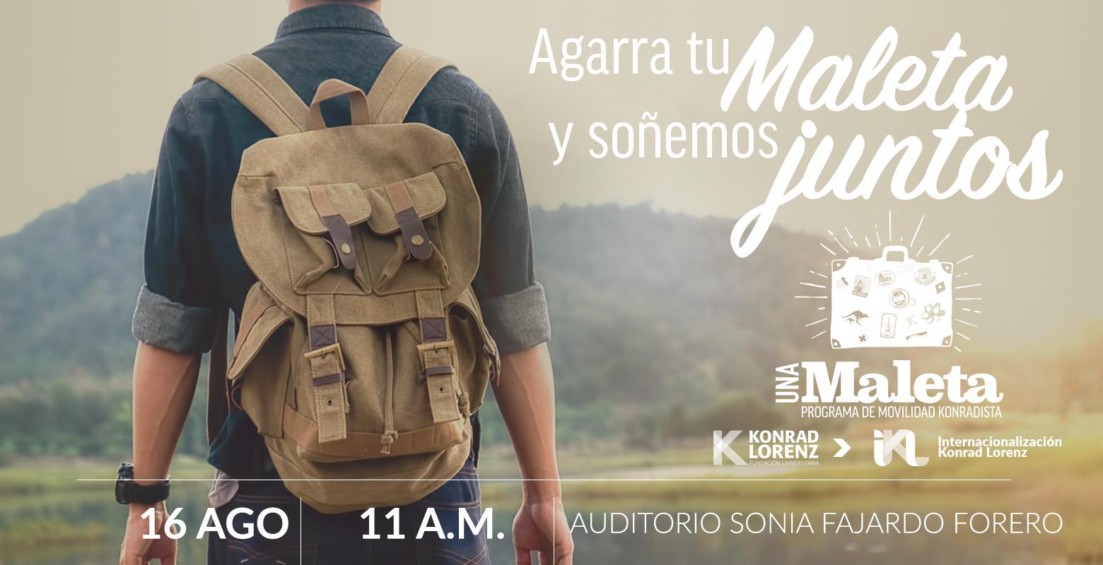 Una Maleta: Programa de Movilidad Konradista. Sesión informativa.