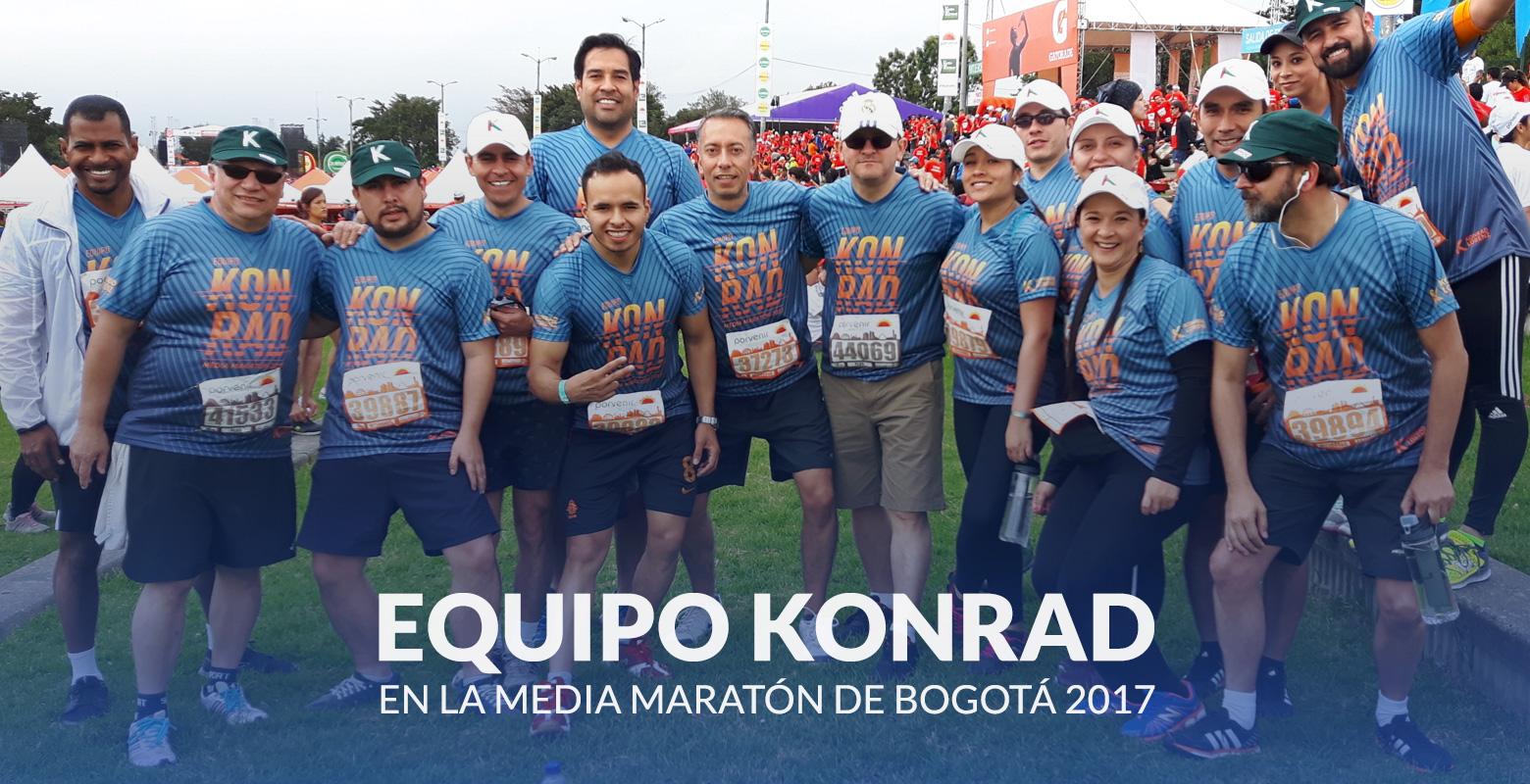 La Konrad en la Media Maratón de Bogotá 2017