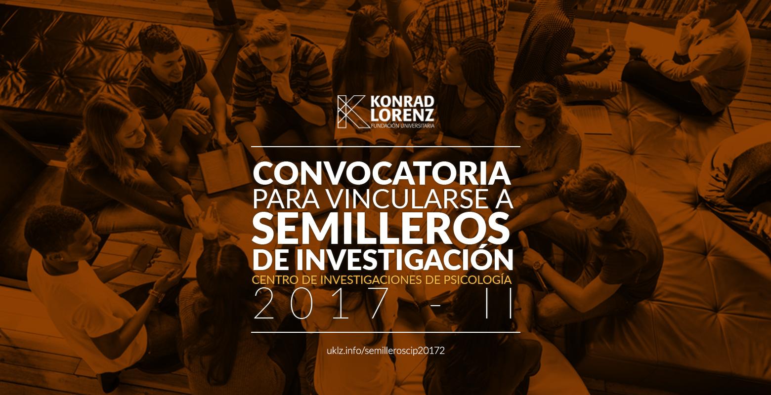 Convocatoria para vincular integrantes a Semilleros de Investigación de Psicología 2017-2