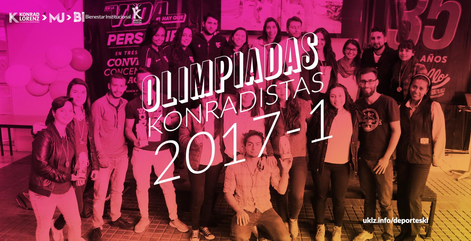 Premiación Olimpiadas Konradistas 2017-1