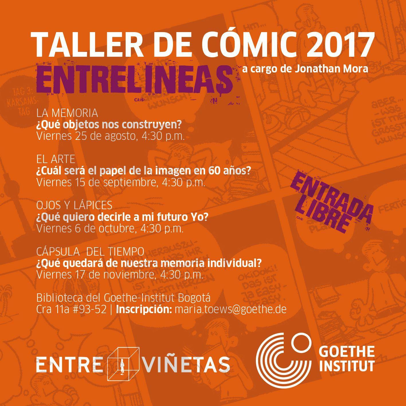 Taller de Cómic 2017 Entrelíneas