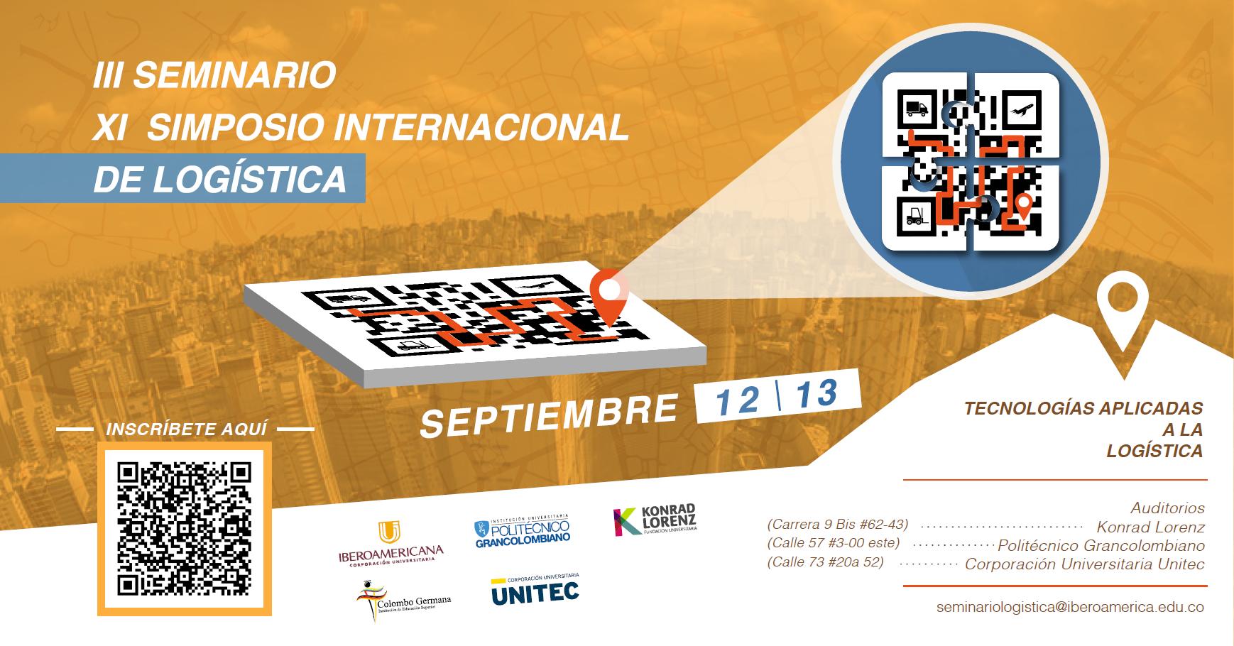 III Seminario y IX Simposio Internacional de Logística