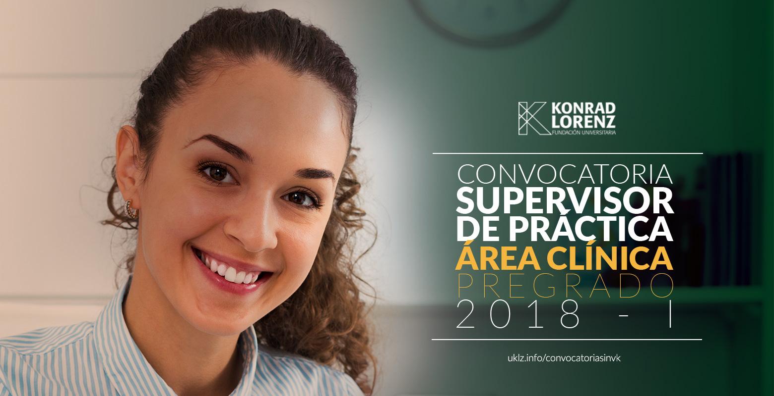 Convocatoria para vincular Supervisores de Práctica Clínica
