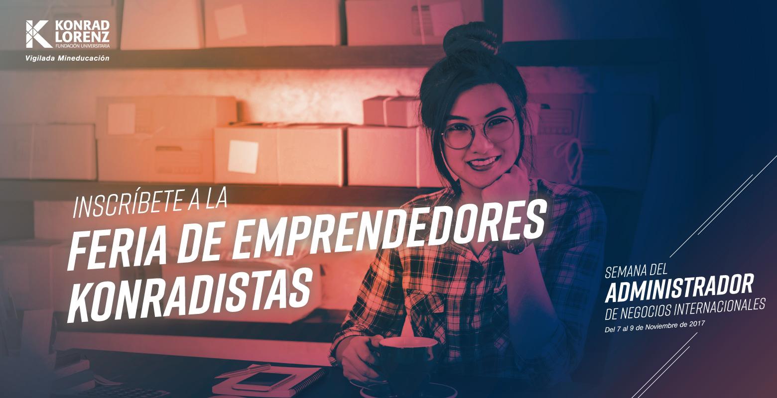 Participa en la Feria de Emprendedores Konradistas