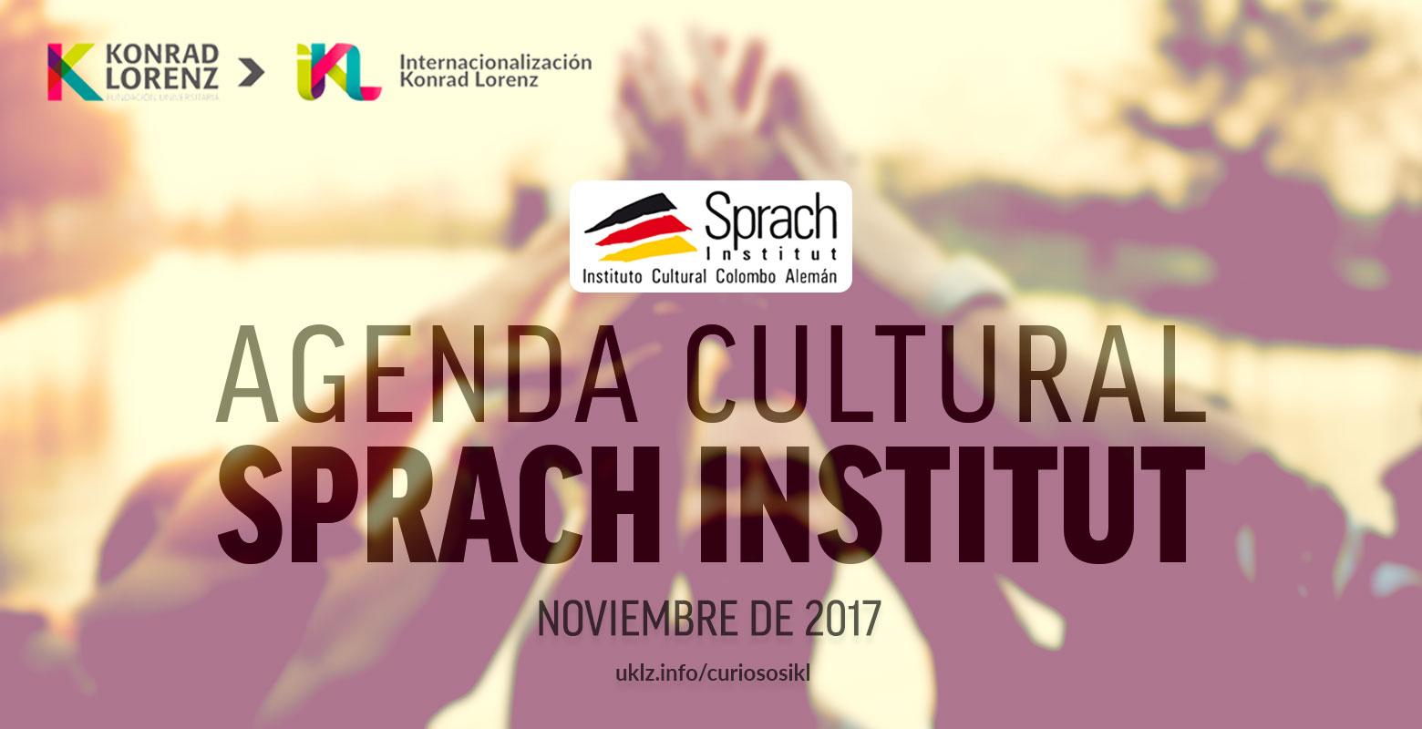 Agenda cultural noviembre - Sprach Institut