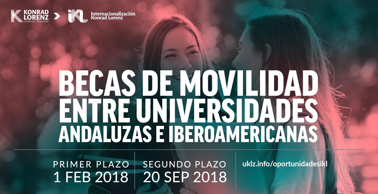 Becas de Movilidad entre Universidades Andaluzas e Iberoamericanas 2018