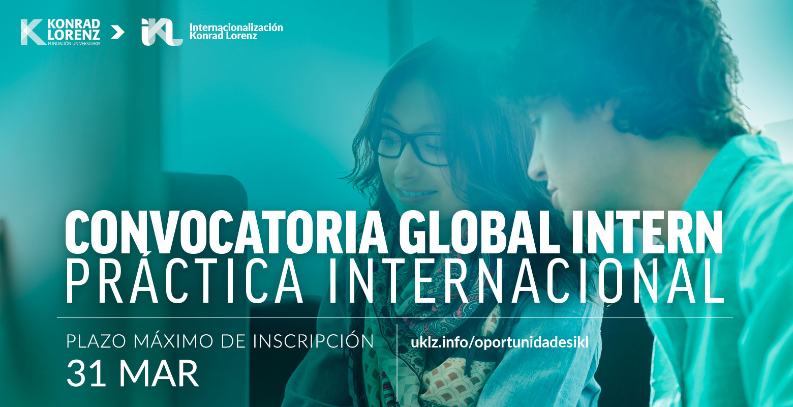 Convocatoria Global Intern: Práctica Internacional