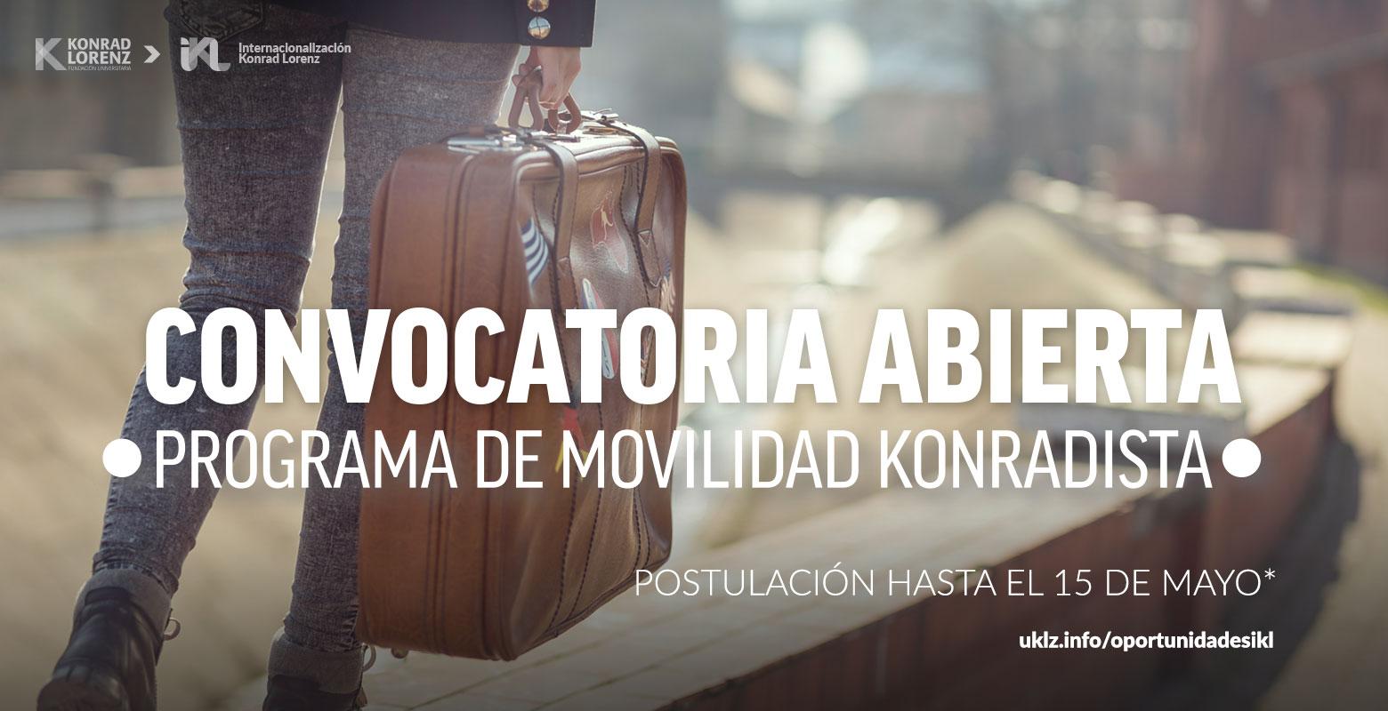 Convocatoria abierta para el Programa de Movilidad Konradista
