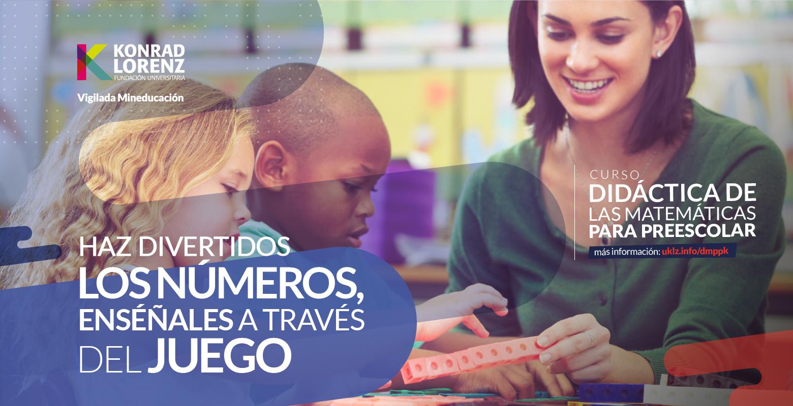 Curso Didáctica de las Matemáticas para Preescolar