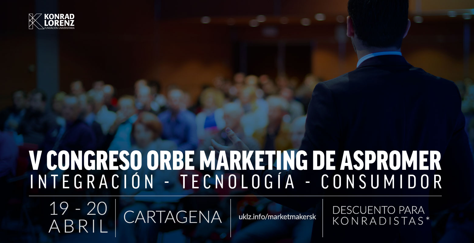 "V Congreso Orbe Marketing de Aspromer ""Integración – Tecnología – Consumidor"""