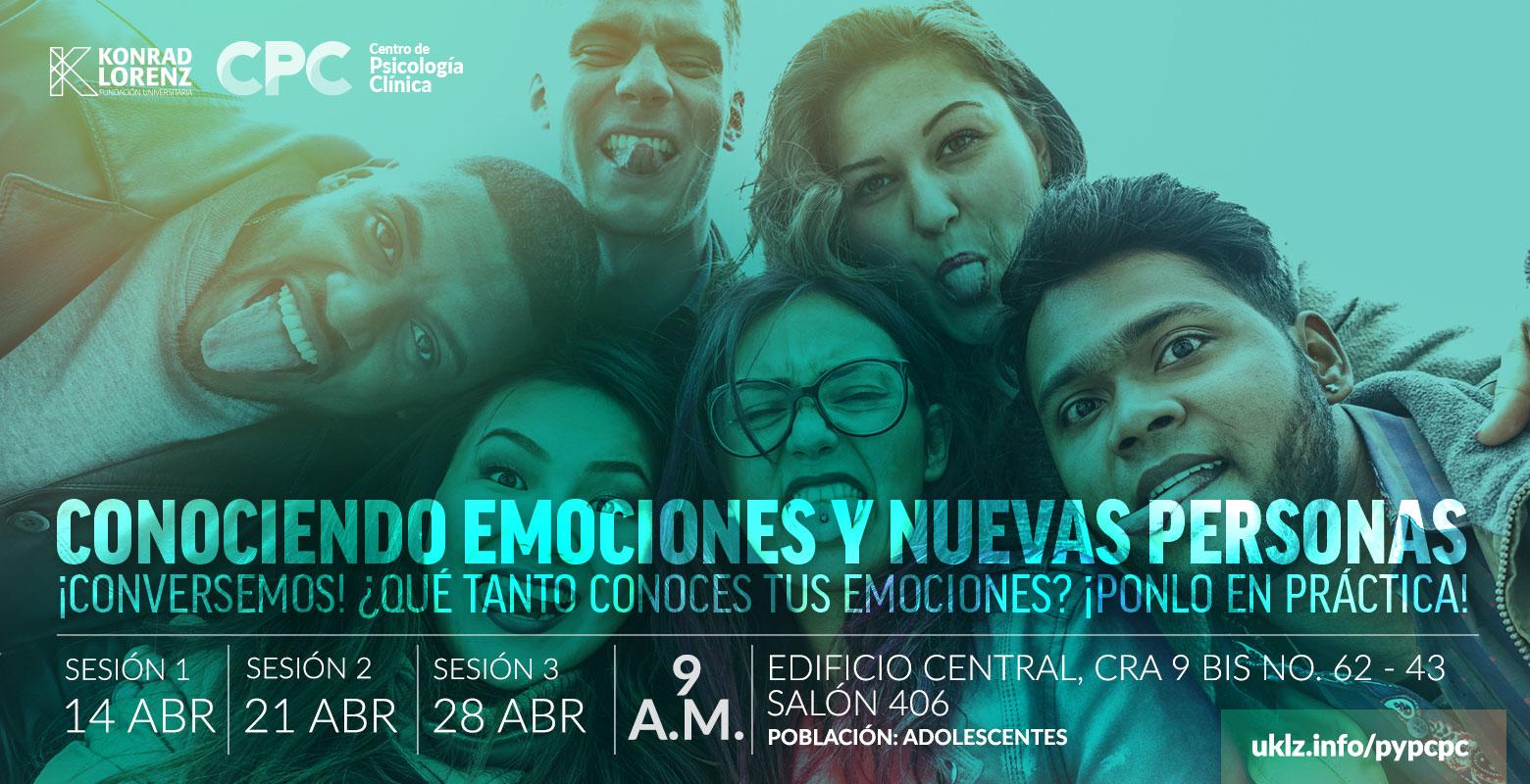 Conociendo emociones y nuevas personas