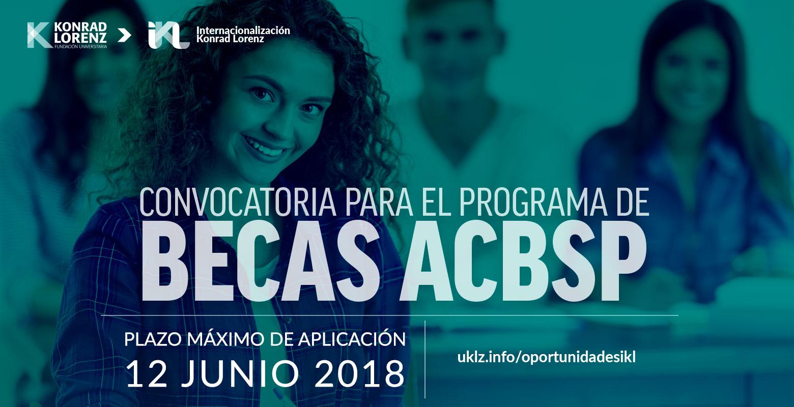 Convocatoria para el programa de becas de ACBSP