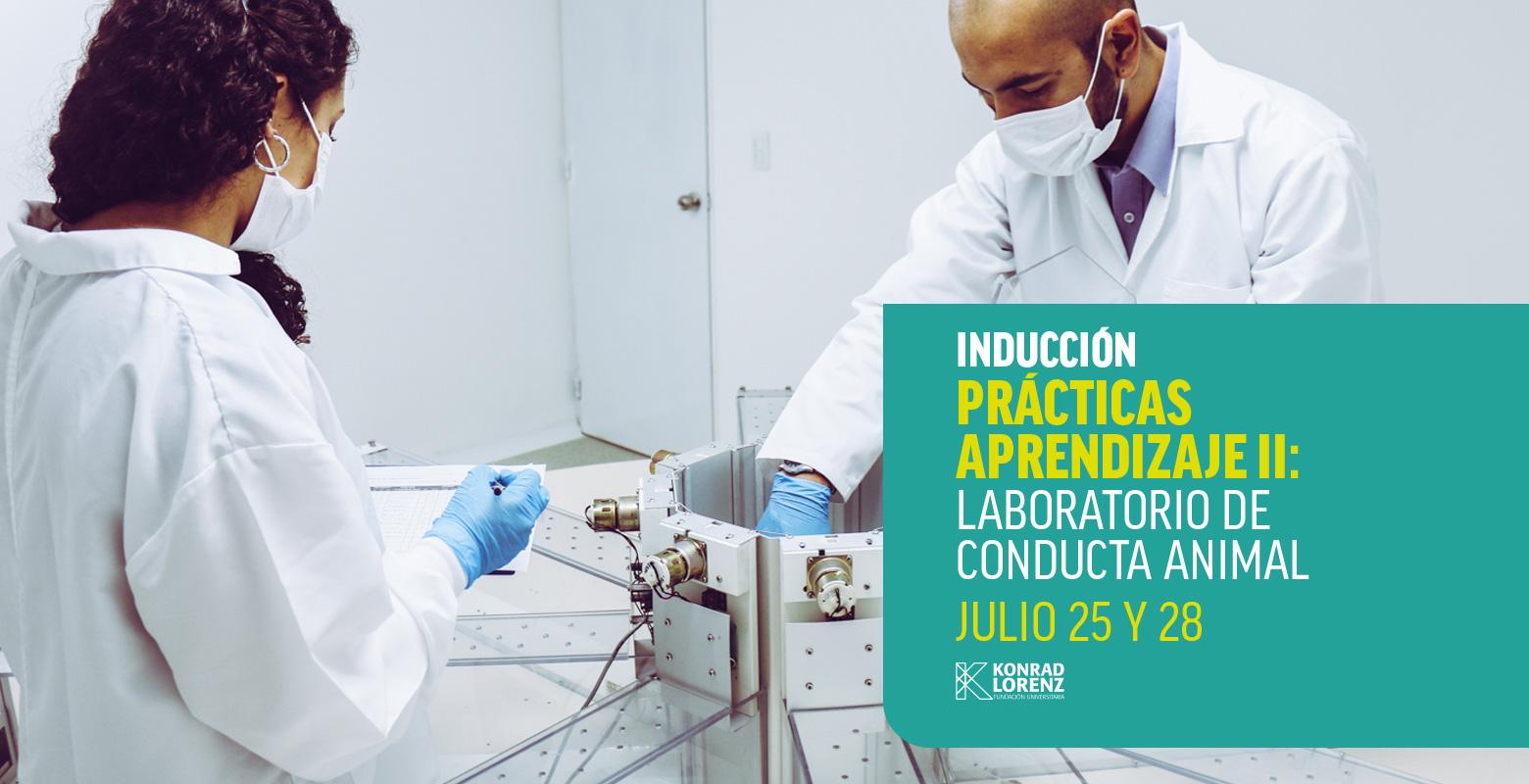 Inducción prácticas aprendizaje II: Laboratorio de conducta animal