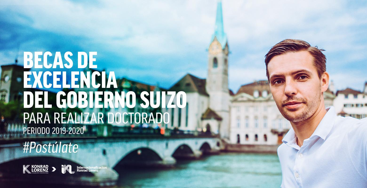 Becas de Excelencia del gobierno suizo para realizar Doctorado