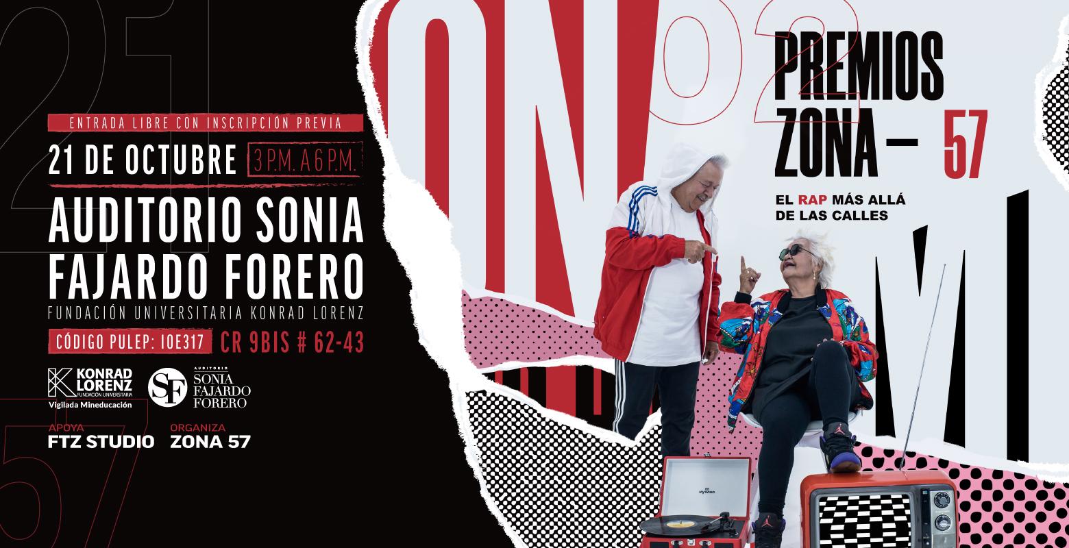 ¡Ya puedes votar por tus artistas favoritos en los Premios Zona 57!