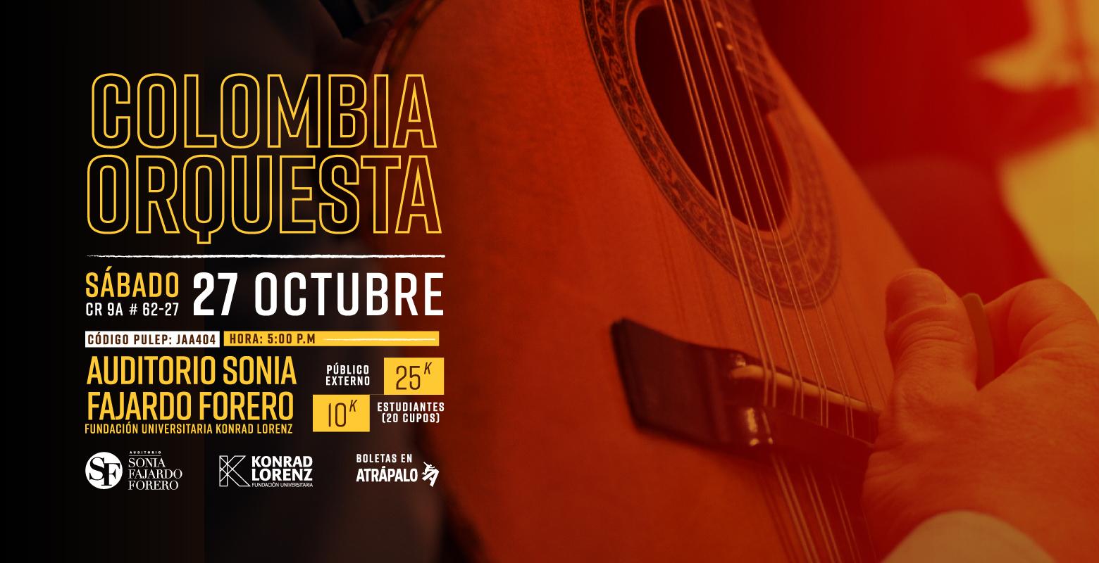 Gran Concierto con Colombia Orquesta