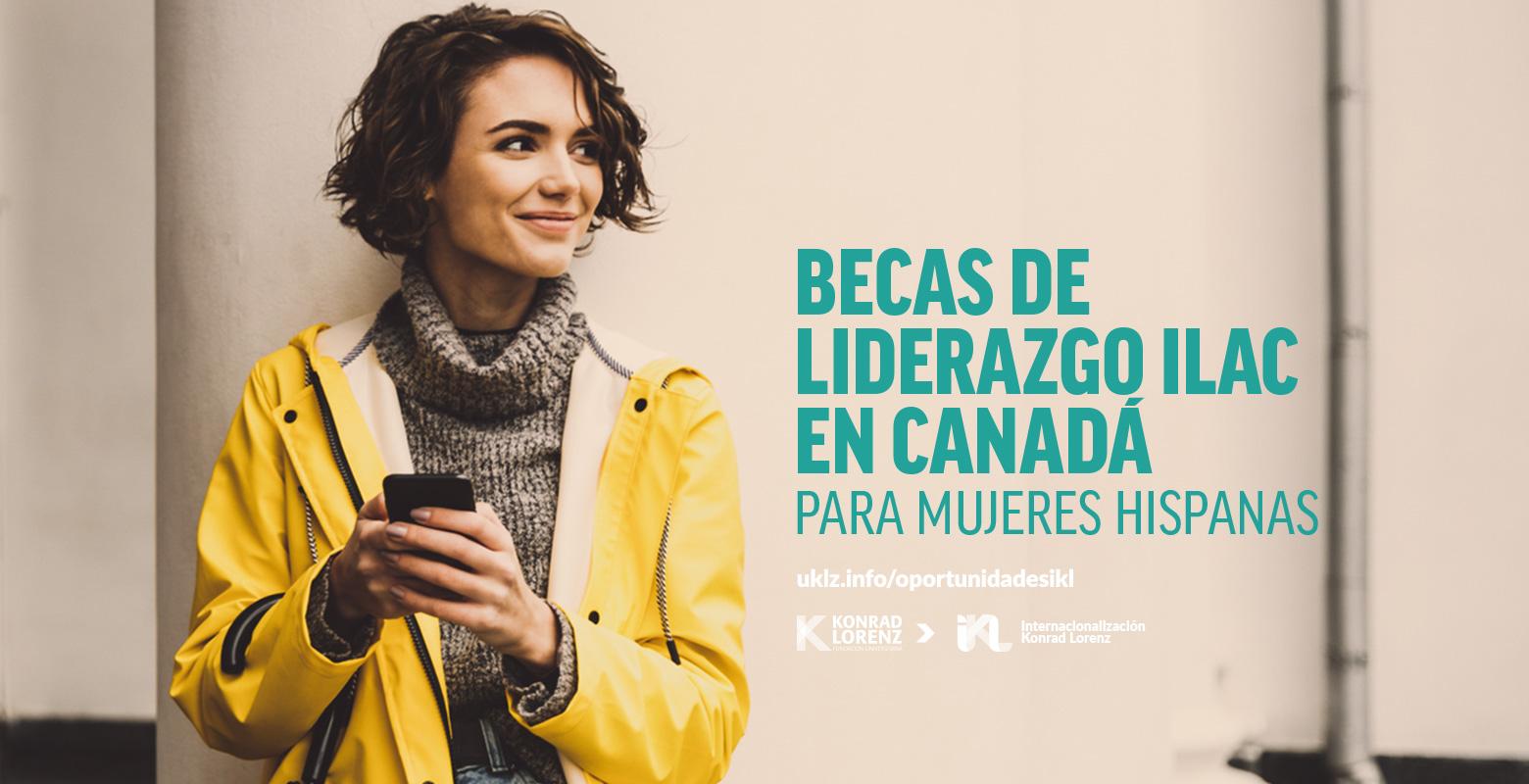 Becas de Liderazgo ILAC en Canadá para Mujeres Hispanas
