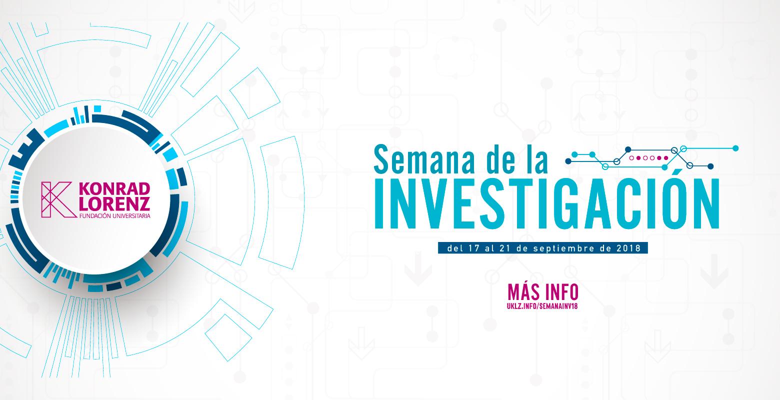 Semana de la Investigación, desarrollo e innovación de la Konrad Lorenz