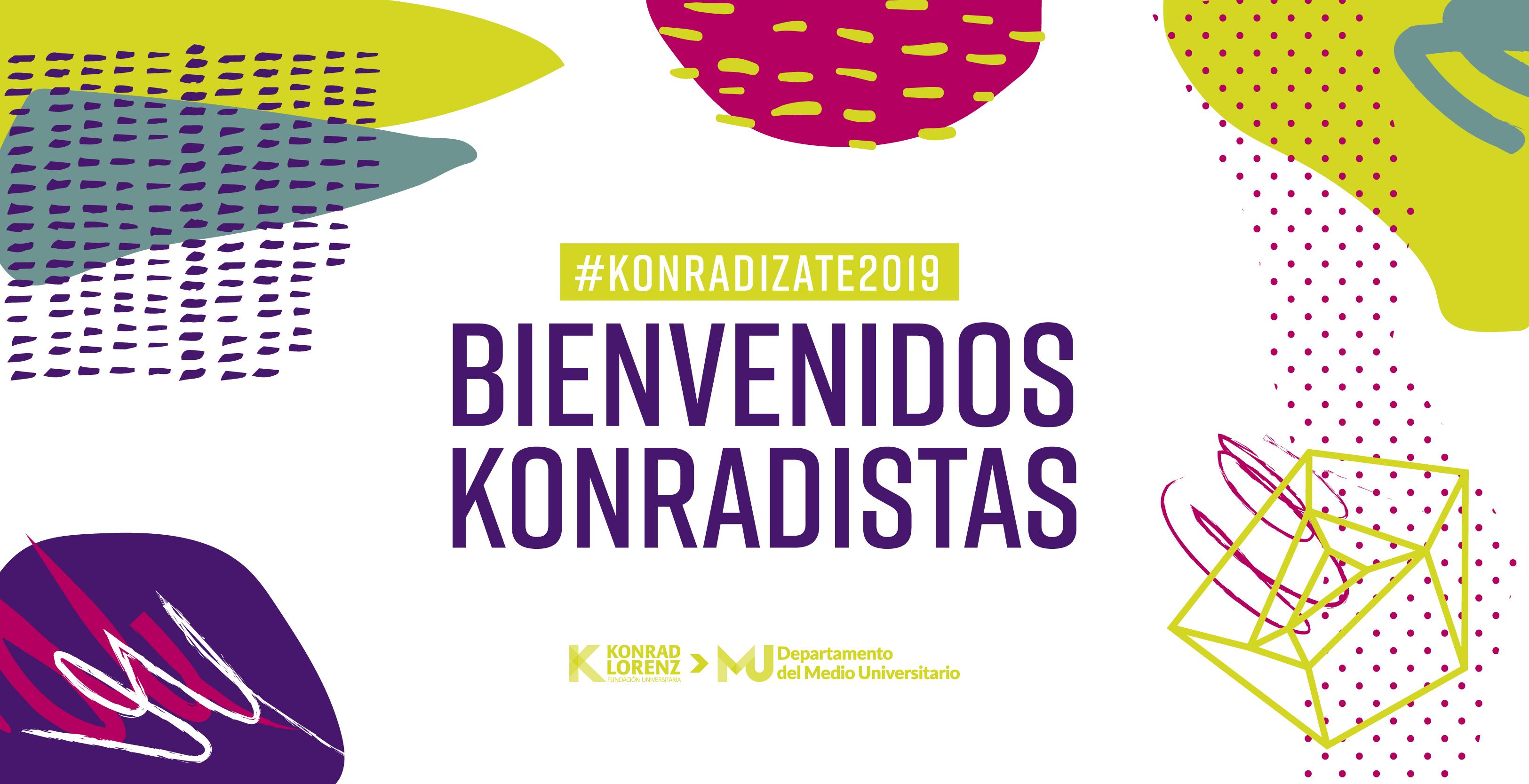 Konradízate, programa de inducción para nuevos estudiantes