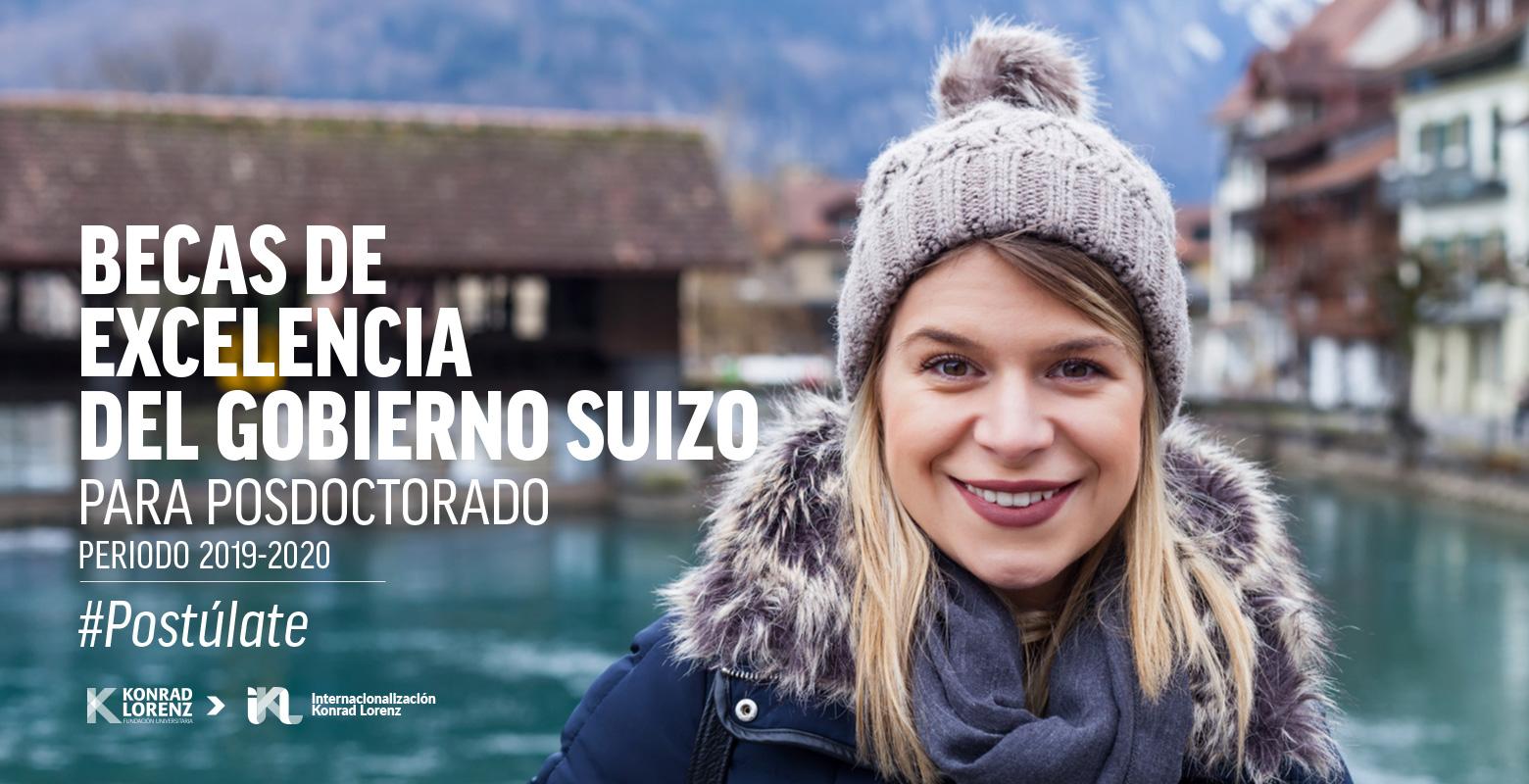 Becas de Excelencia del gobierno suizo para realizar Posdoctorado