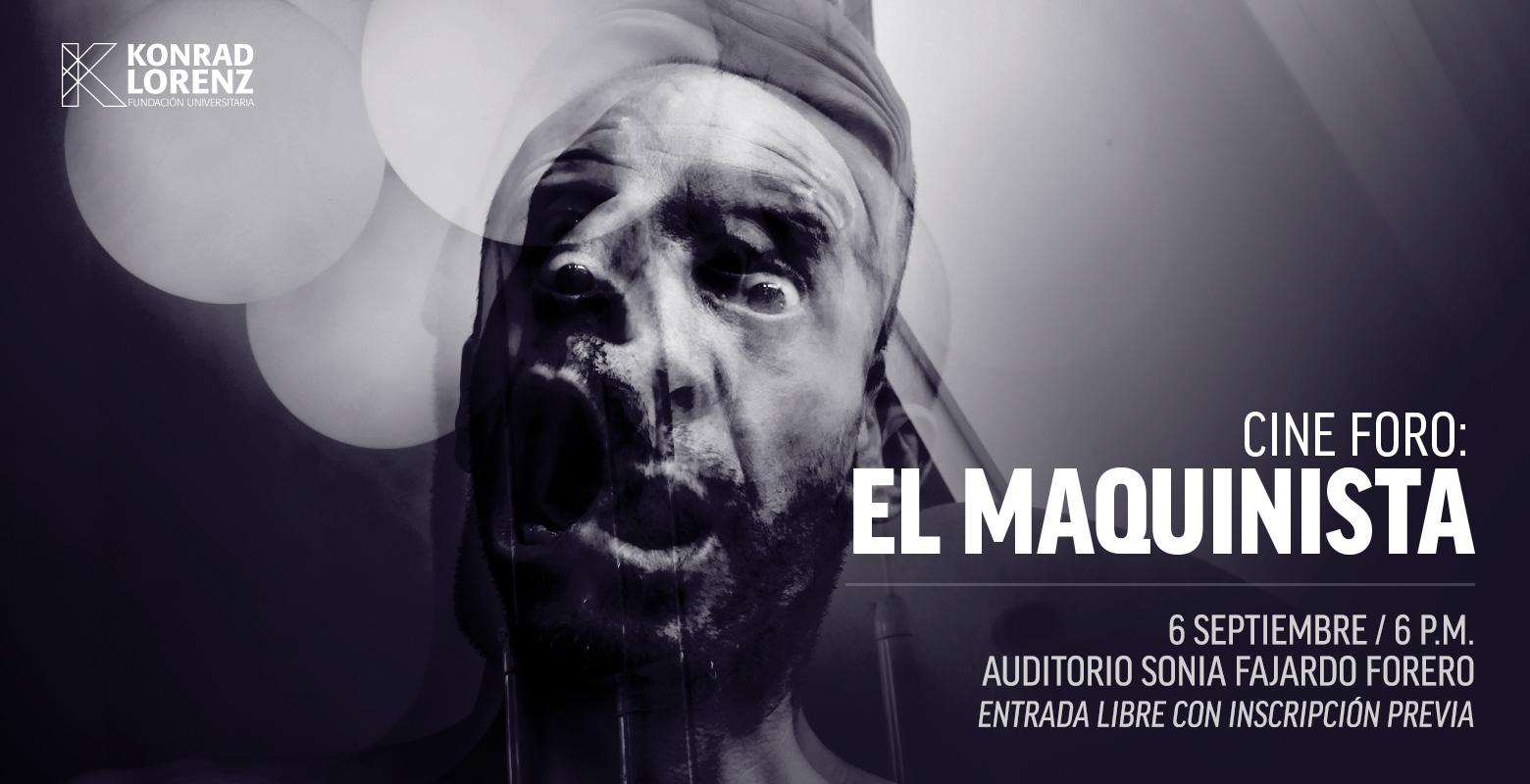 Cine foro: El maquinista