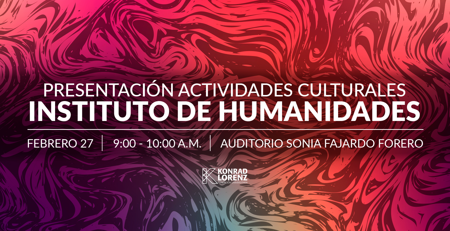 Actividades culturales del Instituto de Humanidades